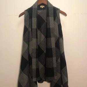 Cozy extra long vest Piko 1988
